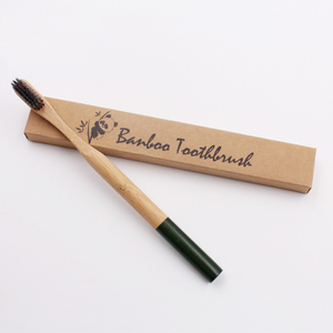 Round Handle Bamboo Toothbrush