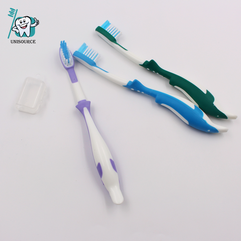 Dolphin Shape Kids Toothbrush