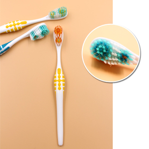 Rubber Tips Exotic Adult Toothbrush