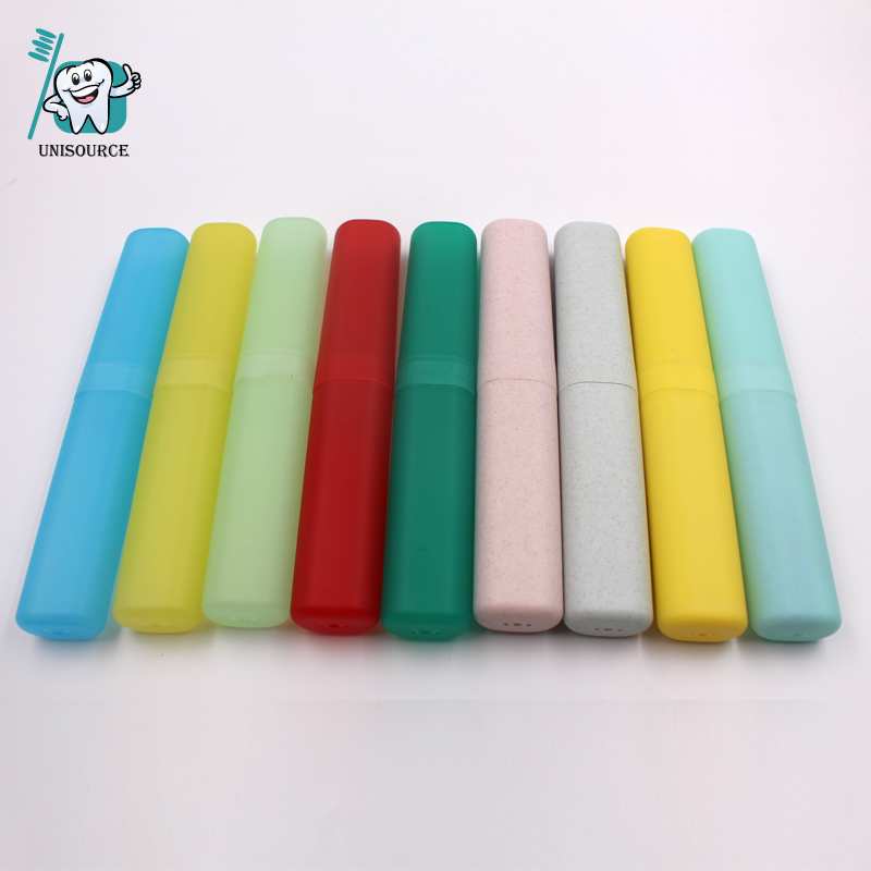 Toothbrush Tube in Oval Cylindar Shape